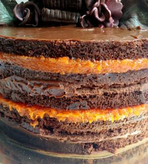 Bolo De Casamento Nake De Cake